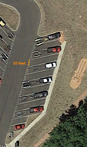 Social distancing for facility parking