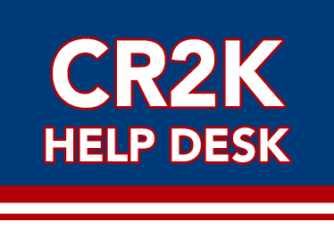 CR2K Help Desk Button
