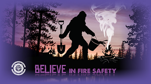 "Bigfoot ""Believe"" Wallpaper"