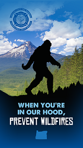 "Bigfoot ""When You're in our Hood"" Wallpaper"