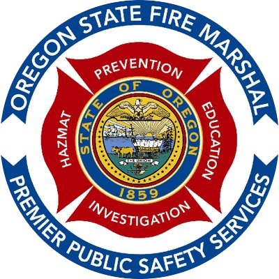 Logo of the Office of the Oregon Fire Marshal
