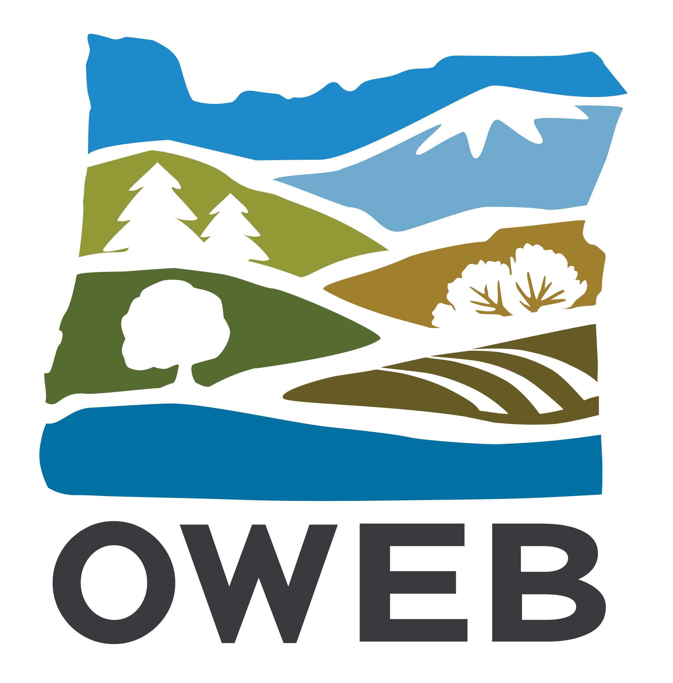 OWEB monogram logo