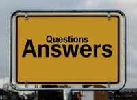 questions and answers sign