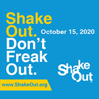 Picture of shakeout logo.